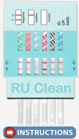 Go To RU Clean 6 Panel Drug Test For Instructions.